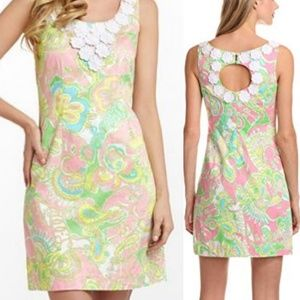 Lilly Pulitzer Nina Dress In Chin Chin